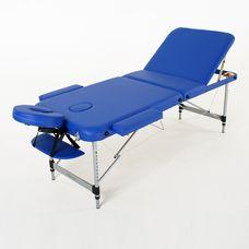 Масажний стіл RelaxLine Belize, алюмінієва основа, темно-синій