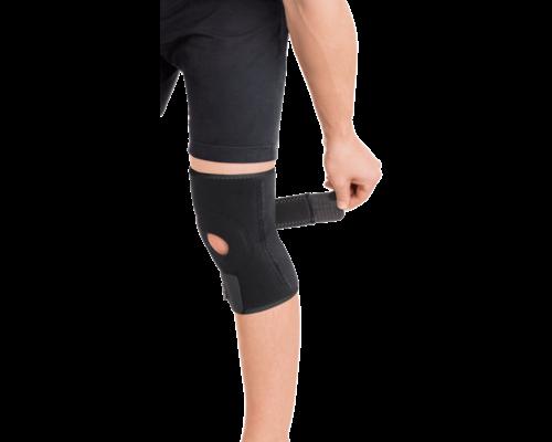 Бандаж розємний на колінний суглоб з 2-ма ребрами жорсткості неопреновий Торос-Груп 517 р.1
