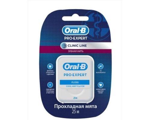 Зубна нитка Oral-B (Орал-В) Pro-Expert Clinic Line 25м