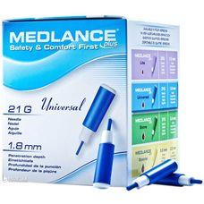 Ланцети автоматичні Medlance plus Universal 21G сині №200