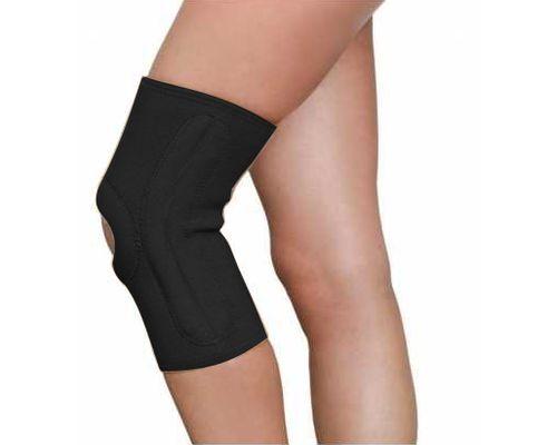 Бандаж на колінний суглоб з ребрами жорсткості MedTextile 6111 р.L чорний