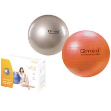 М'яч гімнастичний 85см Qmed ABS GYM BALL КМ-17 срібний