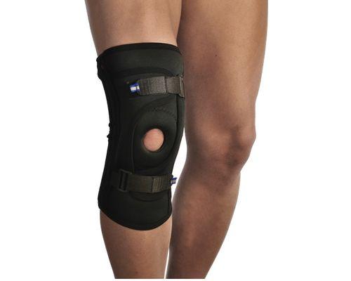 Бандаж для фіксації колінної чашечки неопреновий Алком 4038 р.4 чорний