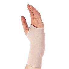 Бандаж Ortop ES-405 на зап'ястя з гелевими вставими еластичний р.L правий, тілесний