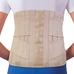 Корсет для спини жорсткої фіксації з 6 ребрами жорсткості Ortop WB-527 р.M бежевий