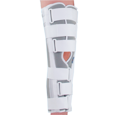 Бандаж (тутор) Ortop OH-601 на колінний суглоб повної фіксації р.L, сірий