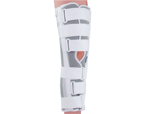 Бандаж (тутор) на колінний суглоб повної фіксації Ortop OH-601 р.L сірий