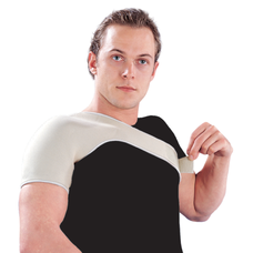 Бандаж Ortop NS-102 на плечовий суглоб неопреновий р.M, бежевий