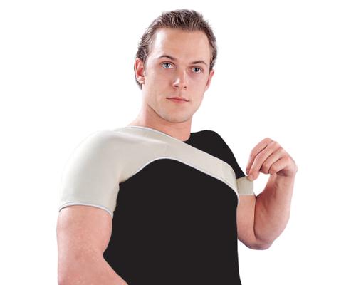 Бандаж на плечовий суглоб неопреновий Ortop NS-102 р.M бежевий