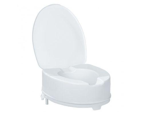 Сидіння для туалету 15см OSD KING-15L з кришкою, високе