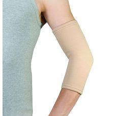 Бандаж еластичний Dr.Life EL-05 на ліктьовий суглоб, р.M, бежевий