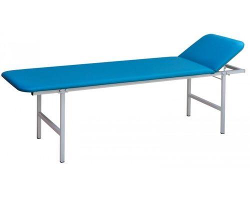 Кушетка процедурна Заповіт з регульованим за висотою підголівником КРП, блакитна