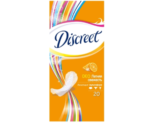 Прокладки P&G Discreet Deo Summer Fresh Multiform №20