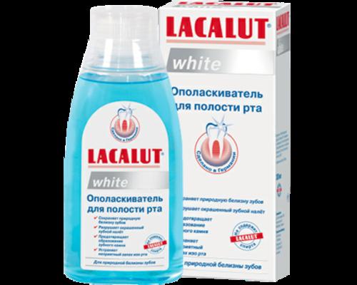 Ополіскувач Lacalut (Лакалут) White 300мл