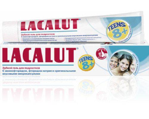 Зубна паста Lacalut (Лакалут) дитяча від 8+ років 50мл