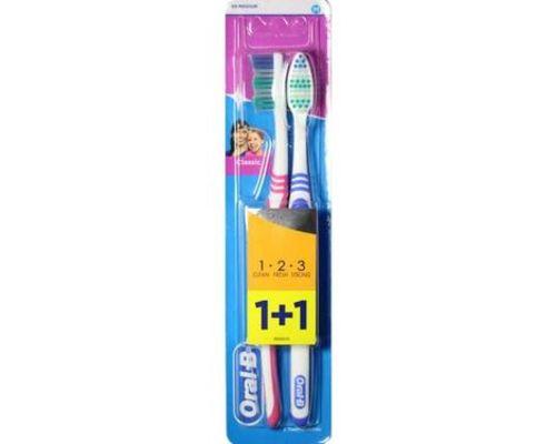 Зубна щітка Oral-B (Орал-В) 3-Effect Classic 40 середньої жорсткості №2