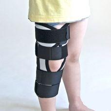 Бандаж (тутор) Алком kids 3013k на колінний суглоб р.2, сірий