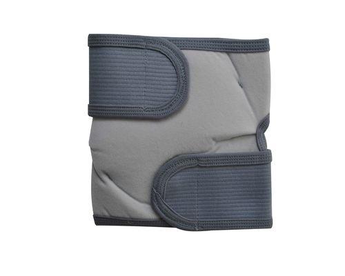 Бандаж на колінний суглоб зігріваючий з собачої шерсті Алком 3055 р.універсальний сірий