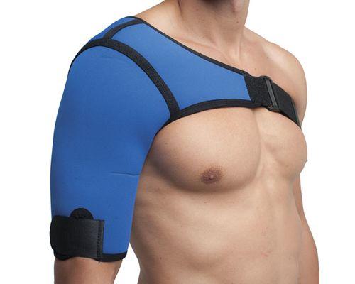 Бандаж на плечовий суглоб неопреновий Алком 4027 р.4 правий синій