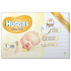 Підгузники Huggies Elite Soft (2-5кг) р.1 №26