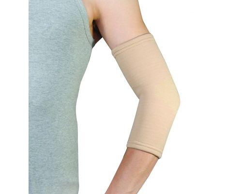Бандаж еластичний на ліктьовий суглоб Doctor Life EL-05 р.XL бежевий