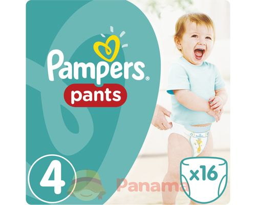 Трусики-підгузки Pampers Pants Maxi (8-14кг) р.4 №16