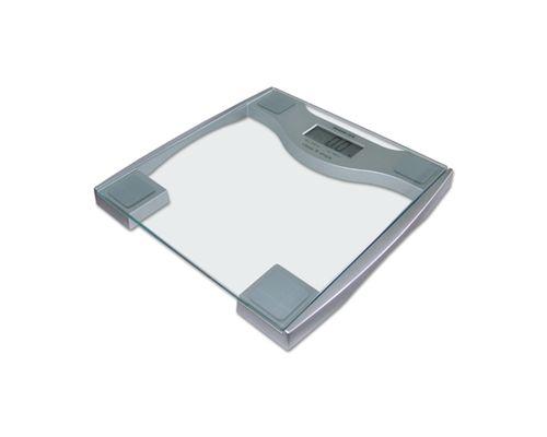 Ваги електронні підлогові скляні до 200кг Momert 5831