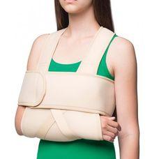 Бандаж MedTextile 8012 на плечовий суглоб зігріваючий (Пов'язка Дезо), р.S/M