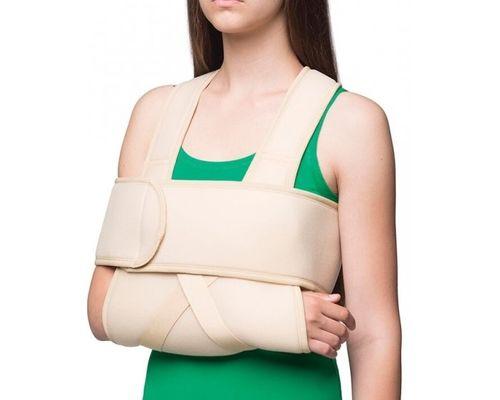 Бандаж на плечовий суглоб зігріваючий MedTextile 8012 пов'язка Дезо р.S/M
