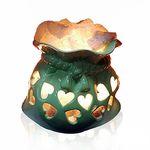 Соляна лампа Мішочок Щастя кераміка