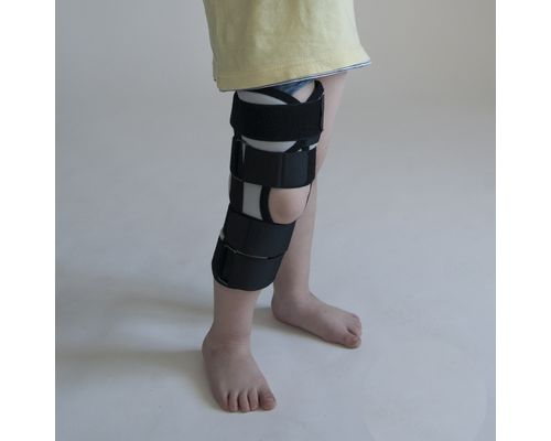 Бандаж (тутор) на колінний суглоб Алком kids 3013k р.2 сірий