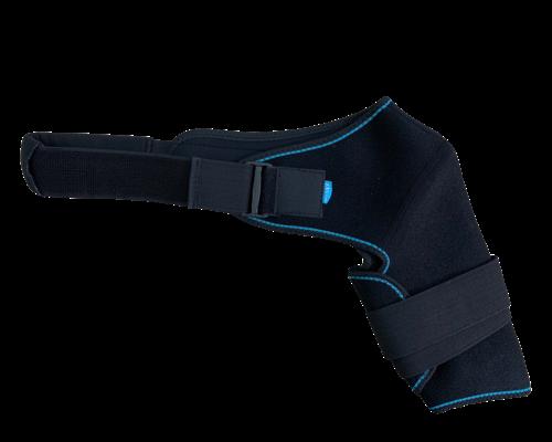Бандаж на плечовий суглоб неопреновий Алком 4027 р.1 лівий чорний