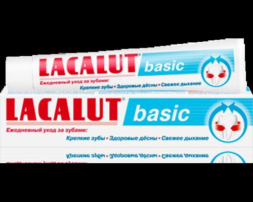 Зубна паста Lacalut (Лакалут) Basic 75 мл