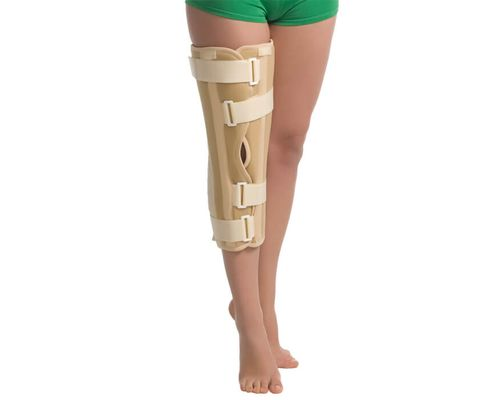Бандаж (тутор) на колінний суглоб MedTextile 6112 р.S бежевий