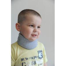 """Бандаж Алком 3006k kids на шийний відділ хребта """"Комірець Шанца"""" р.1, сірий"""