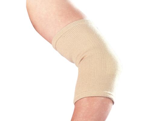 Бандаж на ліктьовий суглоб еластичний Ortop ES-201 р.M бежевий