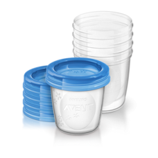 Контейнери для зберігання грудного молока Philips Avent 180мл №25 (SCF619/05)