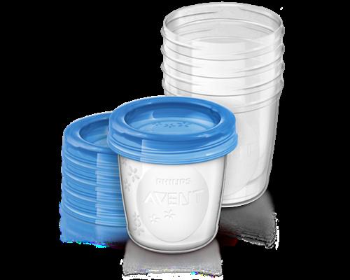 Контейнери для зберігання грудного молока Philips Avent 180мл №5 (SCF619/05)