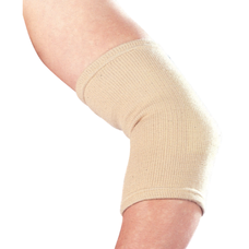 Бандаж Ortop ES-201 на ліктьовий суглоб еластичний р.S, бежевий