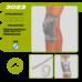 Бандаж Алком 3023 Комфорт на колінний суглоб р.3, сіро-синій