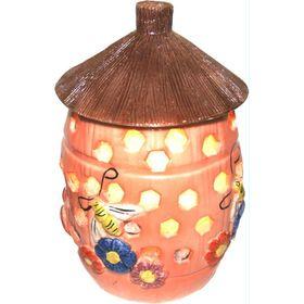 Соляна лампа Вулик нічник дитячий, кераміка