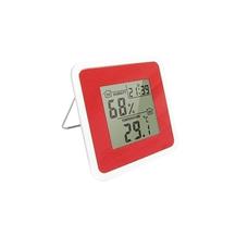 Термогігрометр цифровий з годинником Т-07 Склоприлад