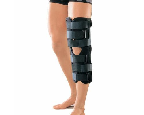 Бандаж (тутор) на колінний суглоб Orliman IR-5100 р.універсальний чорний