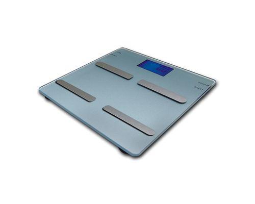 Ваги електронні підлогові скляні багатофункційні Momert 5863
