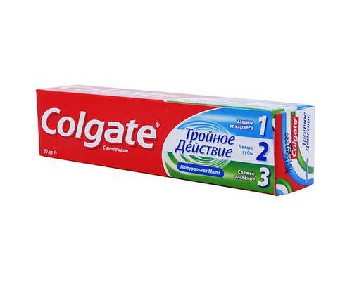 Зубна паста Colgate (Колгейт) Потрійна дія 100мл