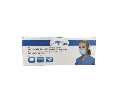 Маска медична на резинках Angel Care №1