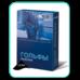 Гольфи компресійні чоловічі Алком 5051 закритий мисок, 1 компресія, р.2, чорні
