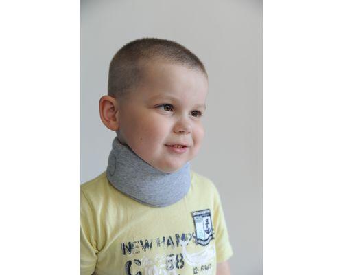 Бандаж на шийний відділ хребта Алком 3006k kids Комірець Шанца р.2 сірий