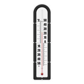 Термометр зовнішній фасадний Стеклоприбор ТБН-3-М2 вик.5 коричневий