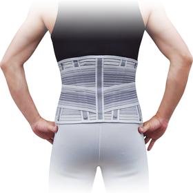 Корсет для спини з 4 ребрами жорсткості Ortop WB-604 р.M сірий